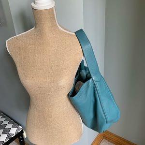 Coach Avery Leather Hobo Bag